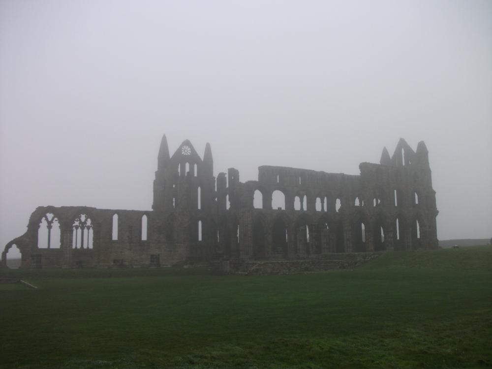 When in Whitby, of course, you have to have a little bit of Gothic ...
