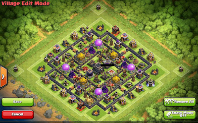 Ayuntamiento nivel 9 Farming Base