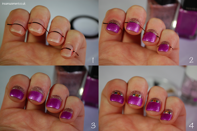 stripe nail art tutorial