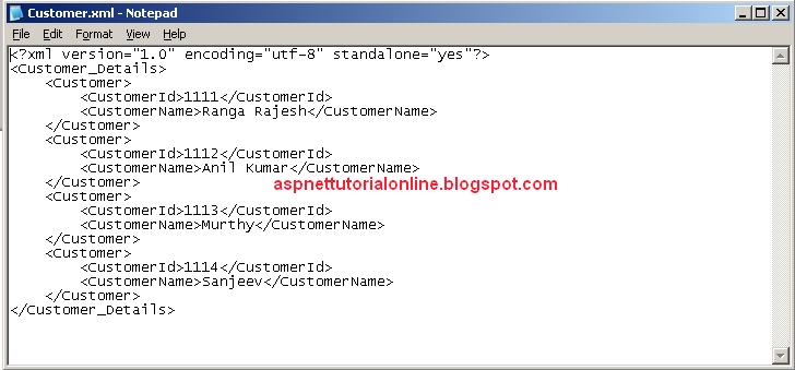 XML FILE CREATION USING C# or ASP.NET