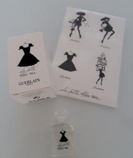 Guerlain La Petite Robe Noire Perfume Bottle & Perfumed Stickers