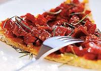 Focaccia de Tomate-Seco (vegana)