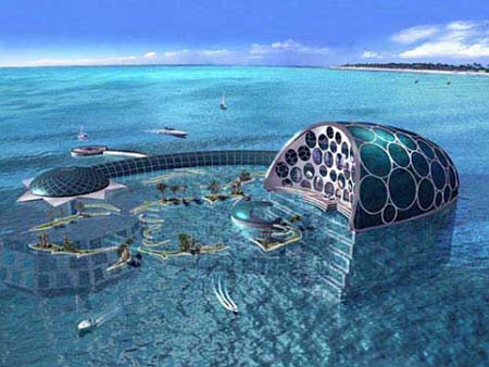 Bedroom on Fantastic View Of Dubai Hotel Under Water   World Visits