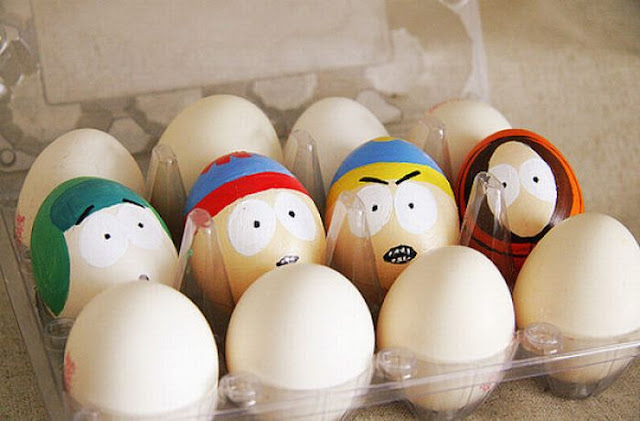 Huevos Pintados Como South Park