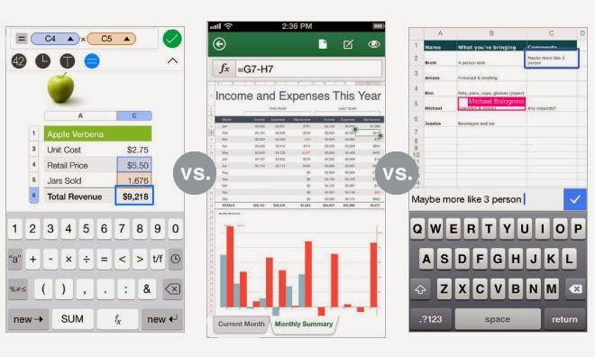 Apple Iwork Vs Microsoft Office 365 Vs Google Docs Ipadpad