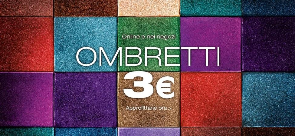KIKO Ombretti a 3€