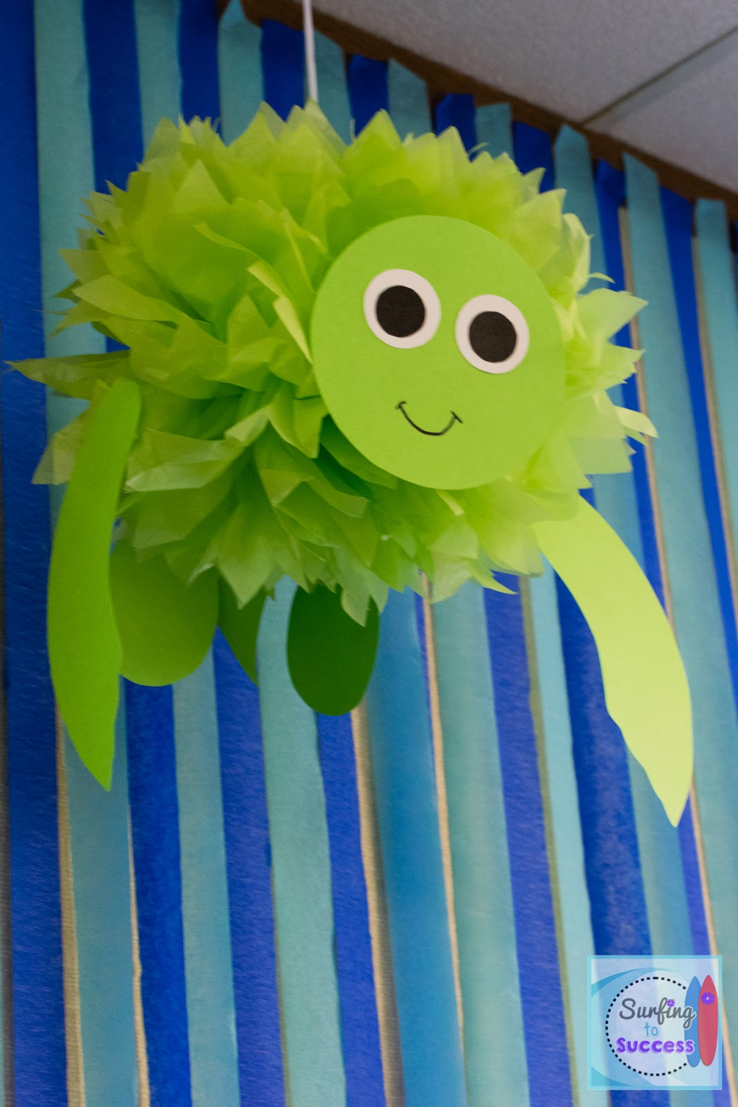Classroom Decoration Ideas With Paper ~ My ocean theme classroom surfing to success
