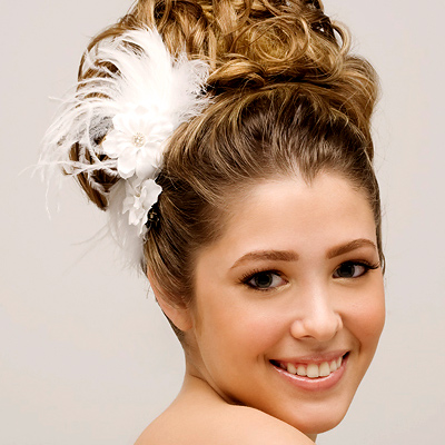 Bridal Feather Hair Accessories | Feather Bridal Hair Accessories
