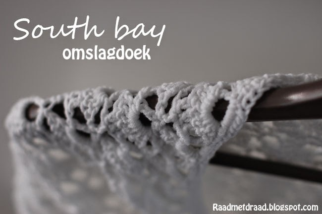 south bay, scheepjes softfun, omslagdoek, cadeau, haken, wit