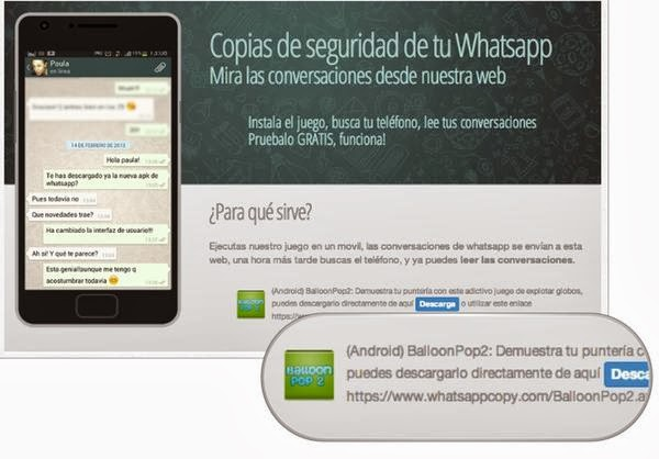 Hacking WhatsApp chats