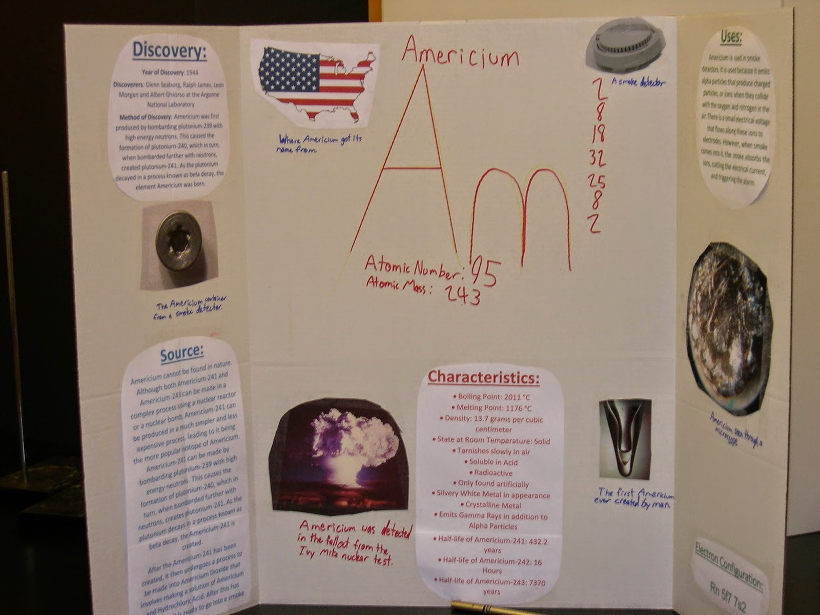 Bronxville Hs Core Chemistry Element Poster Project Atoms Diagrams Electron Configurations Of Elements And Produce A Triptych 3 Panel Describing The Discovery Uses Sources Characteristics Bohr Diagram Configuration