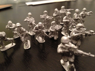 Force on Force Miniatures, Wargame