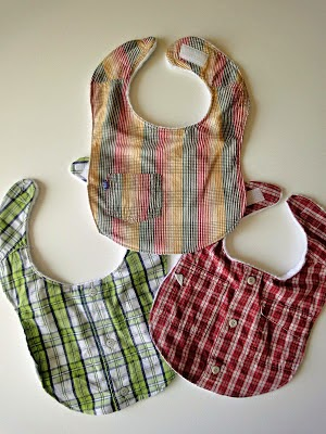 Tutorial for making handsome Bibs