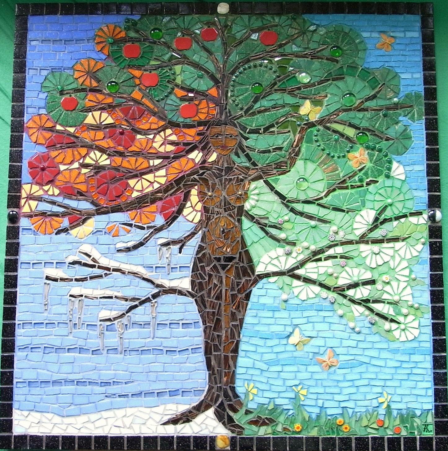 piecemaker mosaic artists tree of life