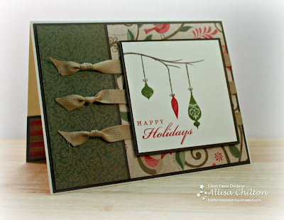 G1043 Pear & Partridge Cardmaking Kit