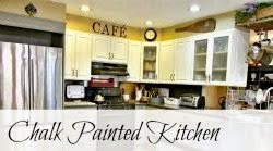 Chalk Painted Kitchen