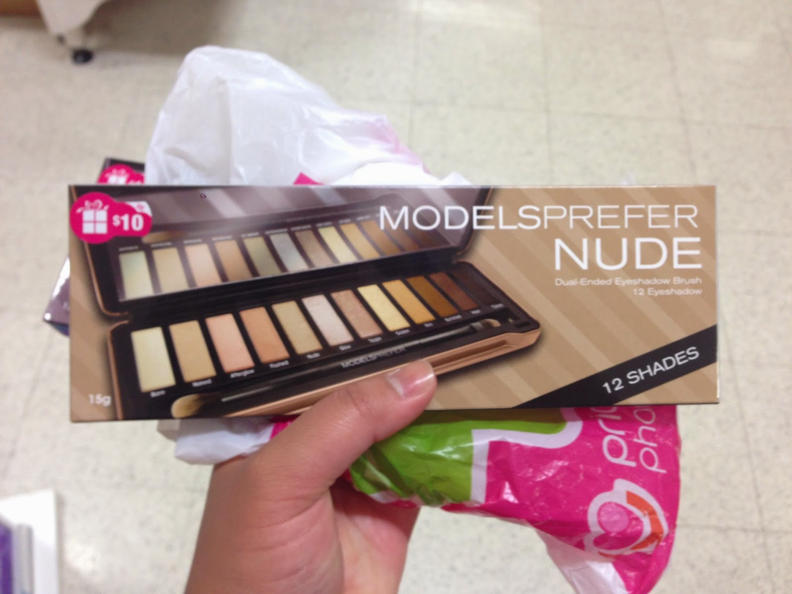Models Prefer Limited Edition 'Shadows' Holiday Palettes 2014 - Nude