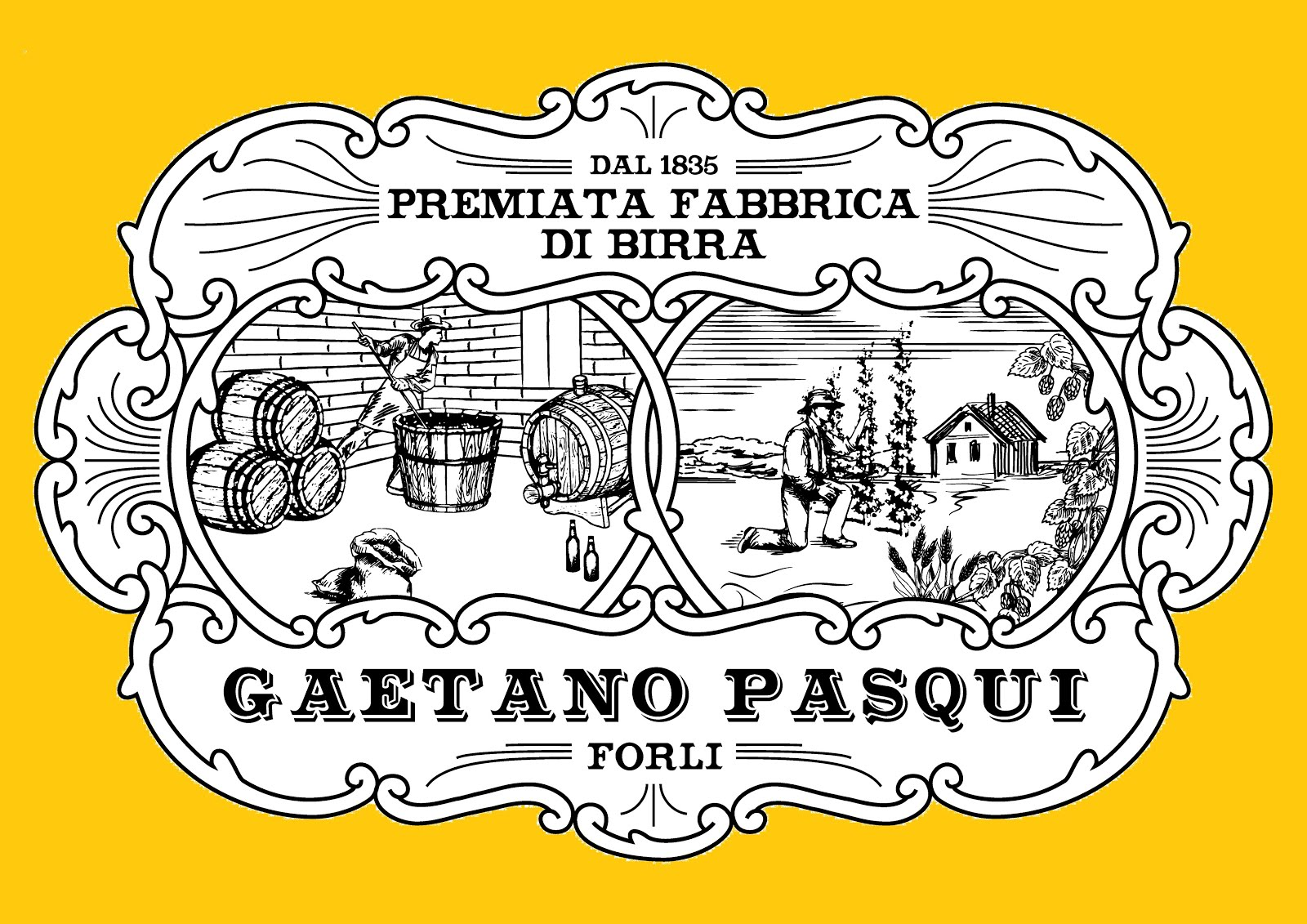 Premiata Fabbrica di Birra Gaetano Pasqui - Forlì