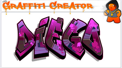 graffiti creator printable