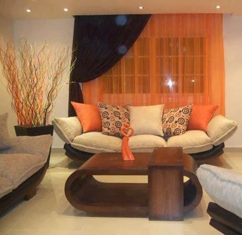 Bricolage e decora o decorar sala com sof original - Como hacer color naranja ...