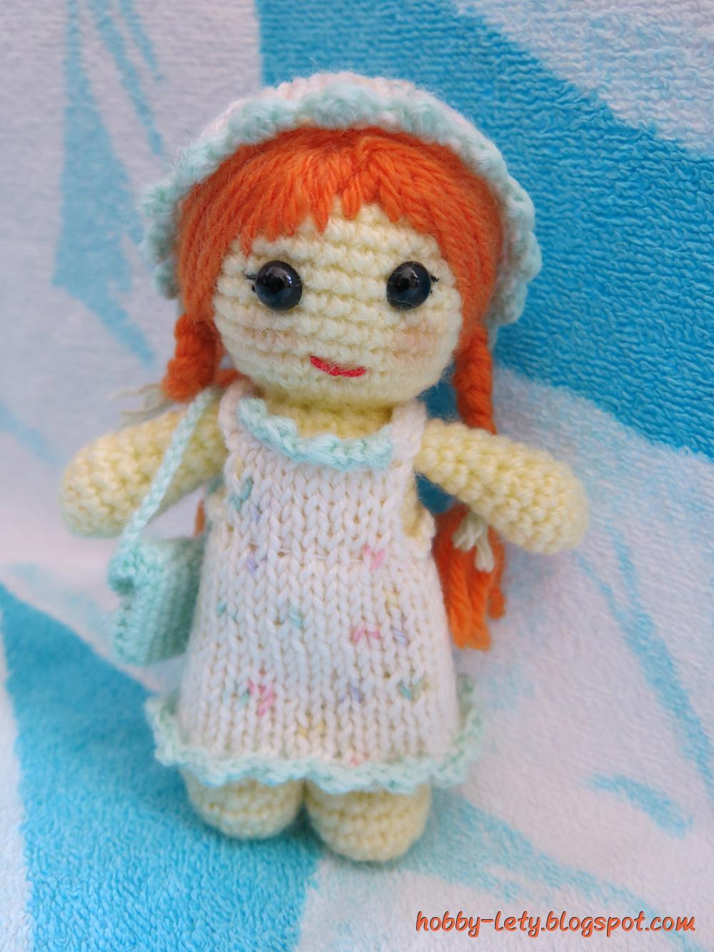 Hobby Lety Uncinetto Amigurumi Varie Tutorial : La piccola Rossella e pronta per il mare
