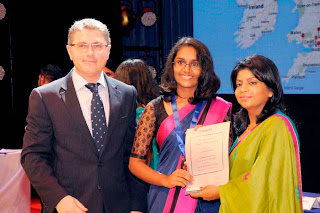 Edexcel, UK's largest awarding body offering academic and vocational qualifications acknowledges 76 world prize winners from Sri Lanka , once again making Sri Lanka one of the top global prize winners for students who sat the Primary and Lower Secondary  Achievement Tests,  GCE A/Level  and International GCSE  in June 2013.