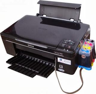 Printer sistem infus