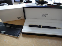 Mont Blanc Ball Point Pen Generation Gold6
