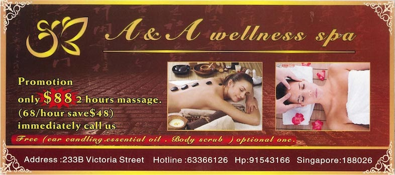 A & A Wellness Spa Promotion