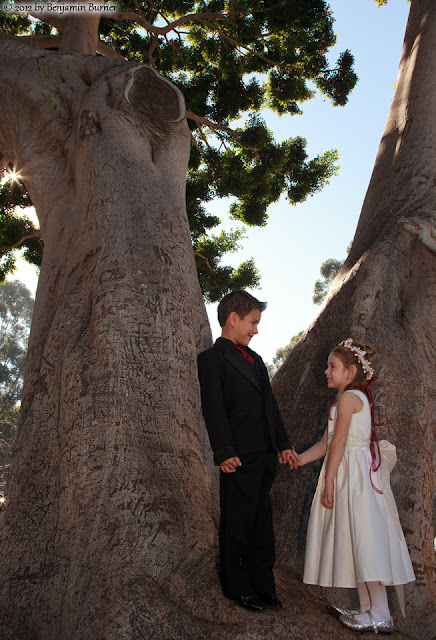 The Flowergirl and the Ringbearer San Diego, CA