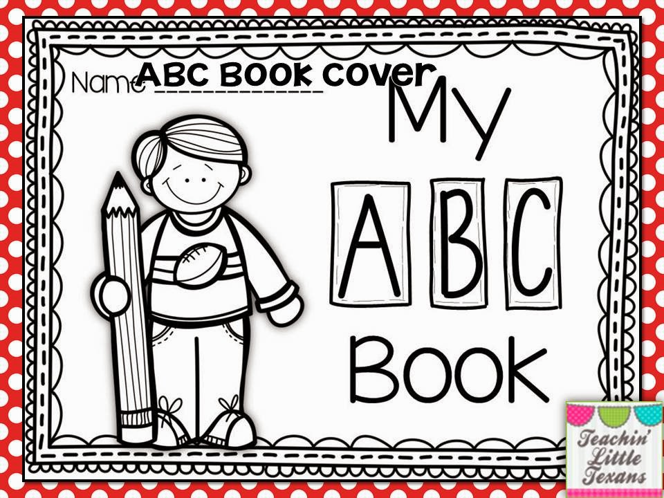 My Alphabet Book Printable Cover : Teachin little texans learning my letters balanced