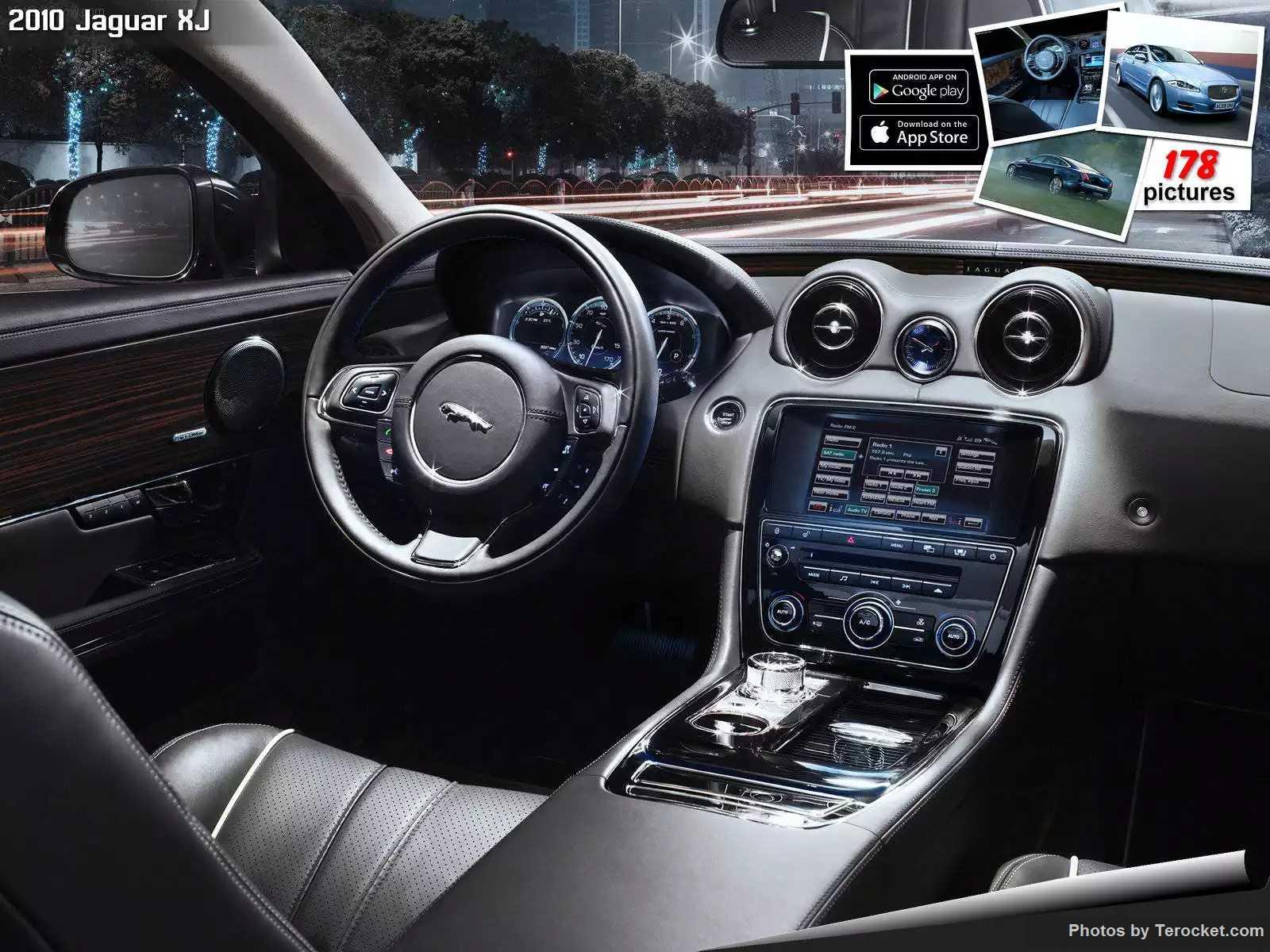 Hình ảnh xe ô tô Jaguar XJ 2010 & nội ngoại thất