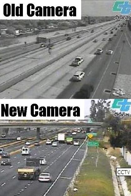 New Traffic Cameras! ~ Caltrans District 7