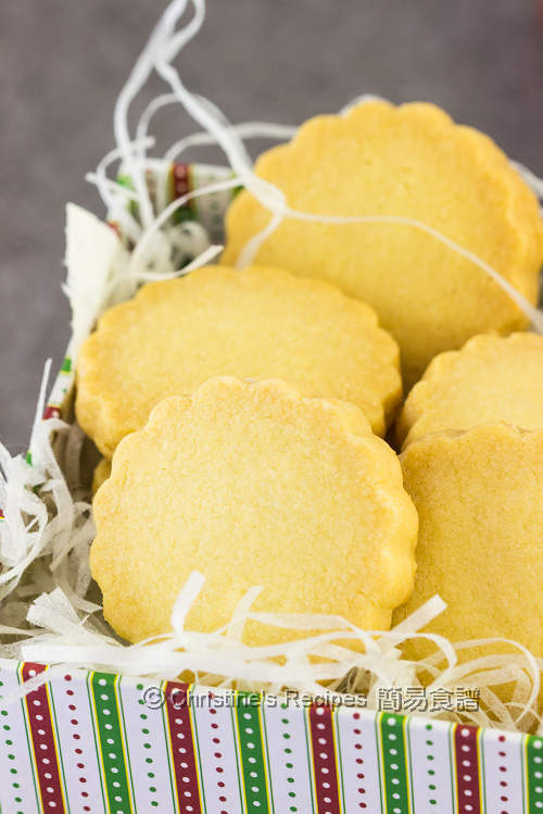 牛油酥餅 Shortbread Cookies03