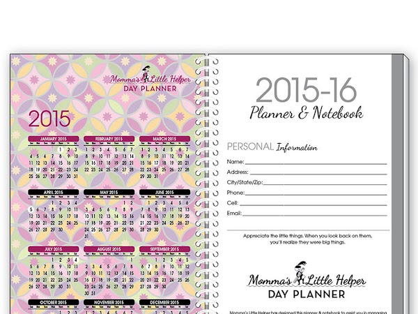 Back to School Organization from Calendars.com #Review & #Giveaway