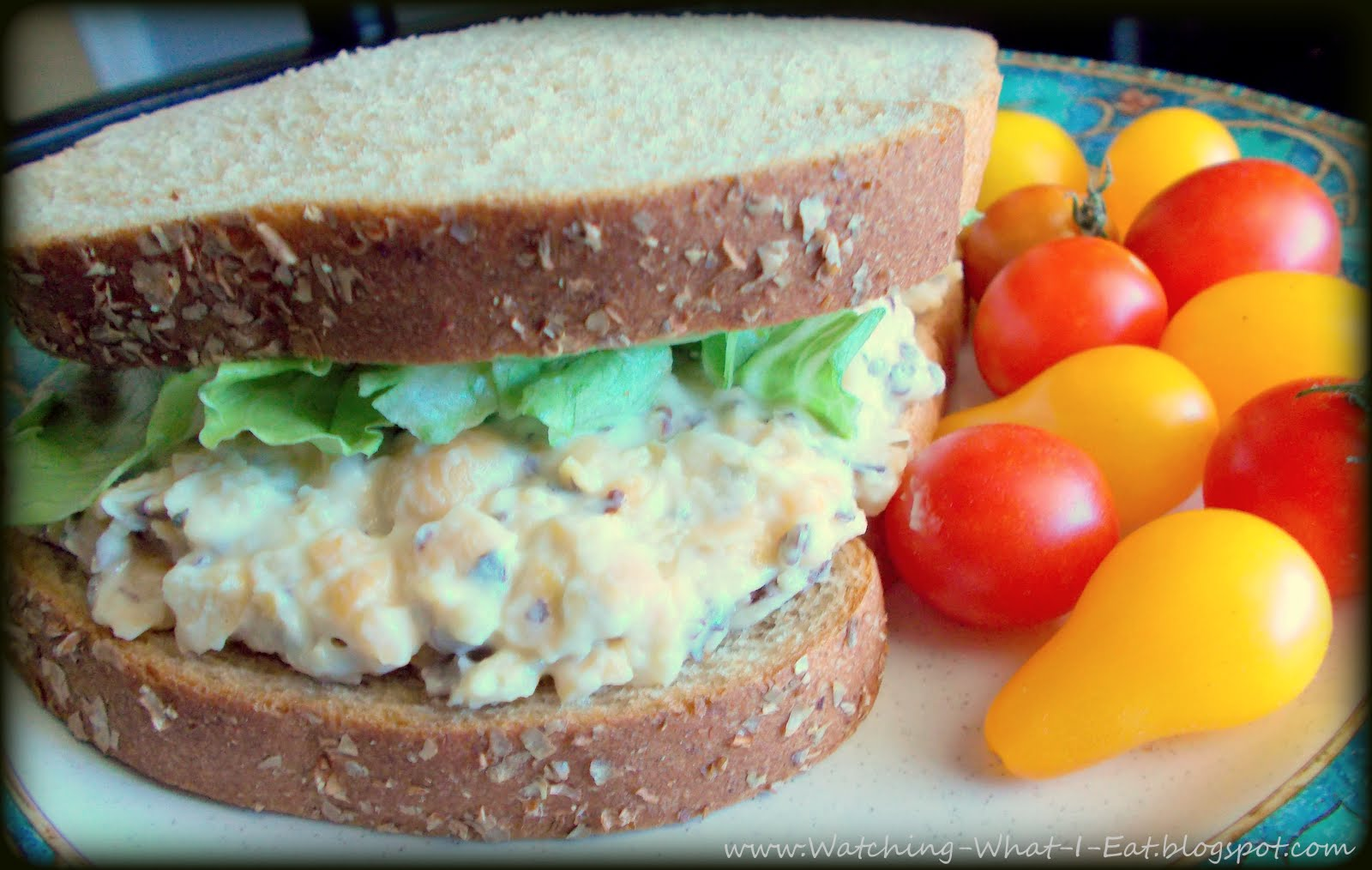 Watching What I Eat: Vegetarian Mock Tuna Salad ~ Meatless Monday