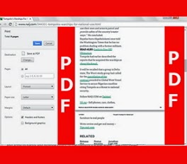 How to Quickly Save any Webpage as PDF File Without Any Tool