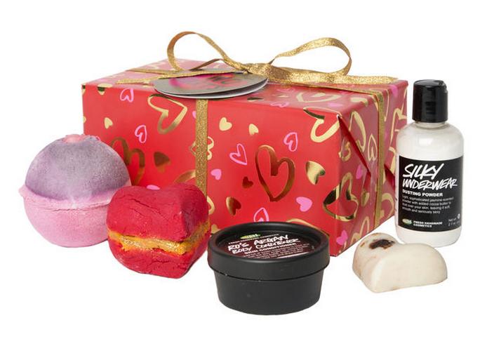 Idées cadeaux St-Valentin Deux Coeurs Lush