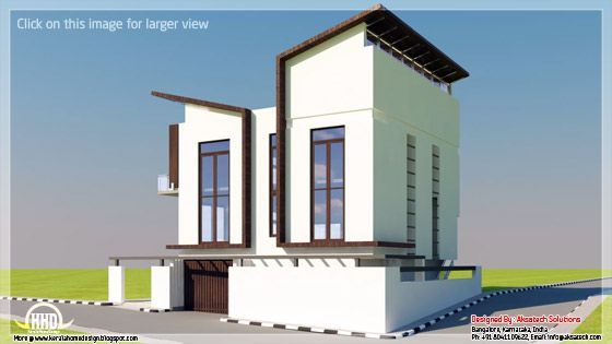 Unusual design home