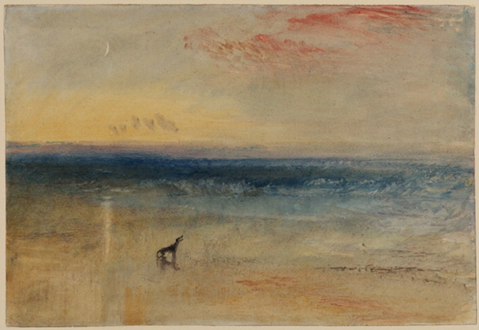Notes from the Pack - The Story of Dog. Details of dogs in paintings by JMW Turner.