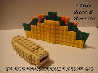 LEGO Food, LEGO Taco & Burrito