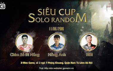 Hào hứng chào đón giải đấu Siêu Cup đặc biệt của AOE Việt