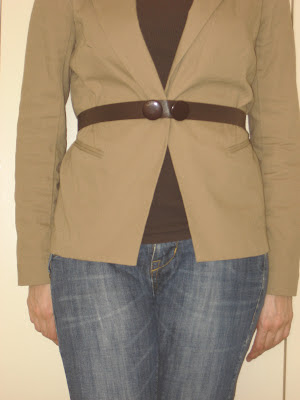Cinturón hecho a mano / handmade belt / ceinture fait à la main