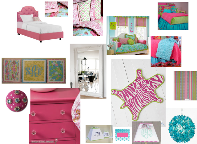 stacy curran, south shore decorating, conspicuous style, design blog, best interior design blogs, decorating, girl's rooms, lilly pulitzer furniture, pink bedroom, pink and green room, pinks and blue rooms, bedrooms