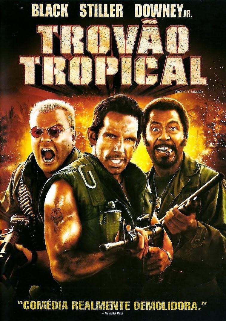 Trovão Tropical – Dublado