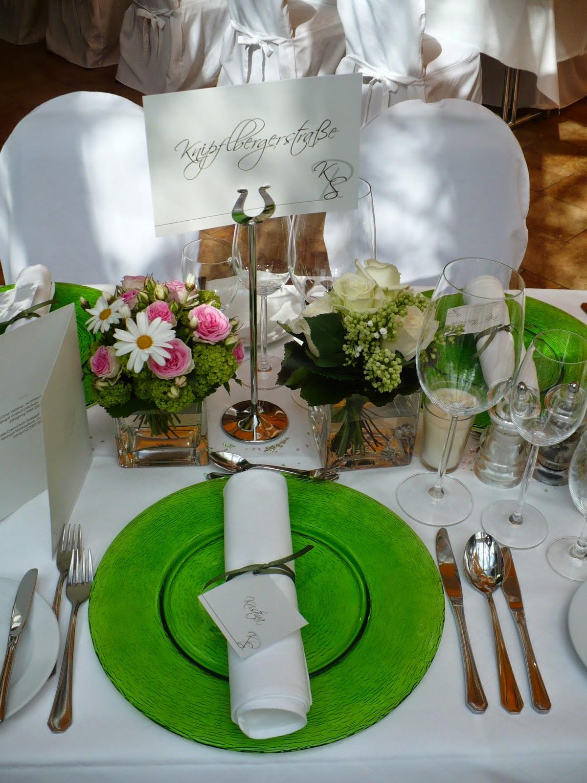 Farbschema Grün-Weiß