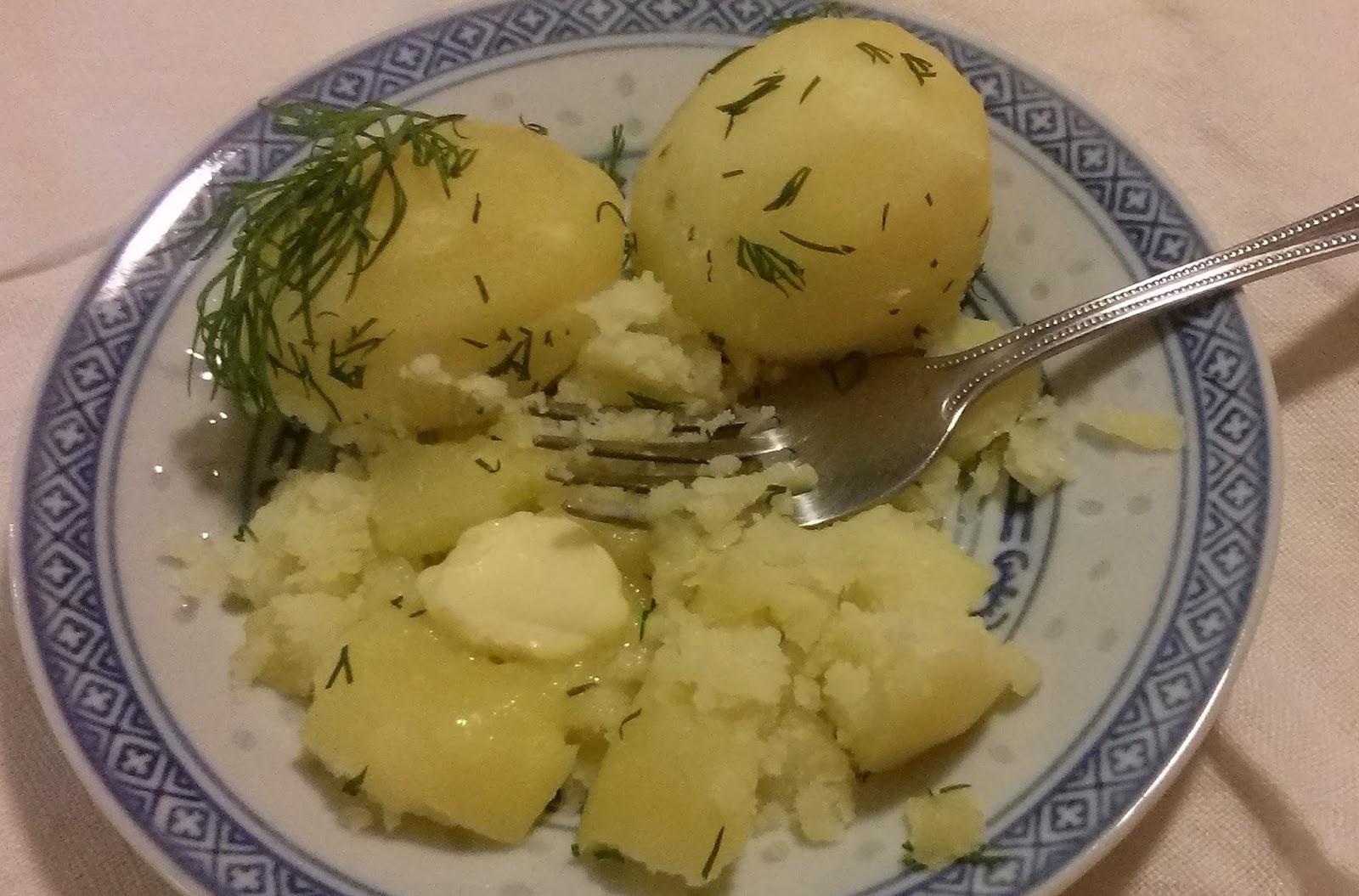 mat med potatis
