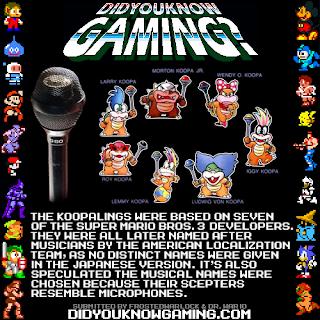 koopalings fact Random Game Facts   Koopalings