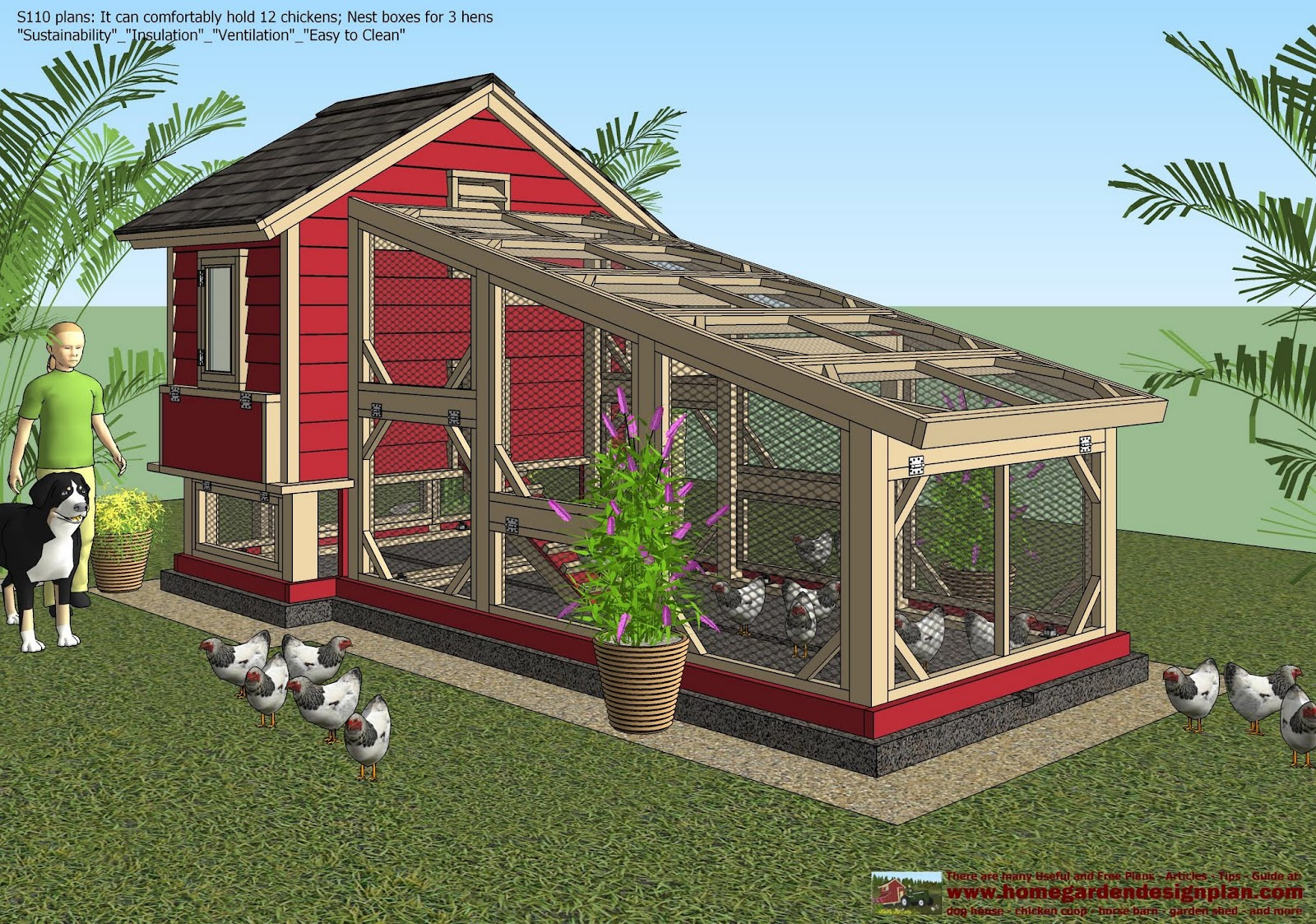 minecraft how to build a chicken coop