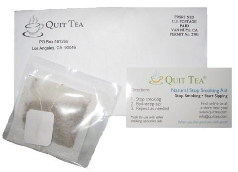 Amostra Gratis Chá Quit Tea